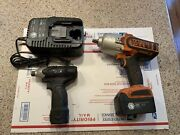Matco Tools Cordless 20v 1/2andrdquodrive Impact And 12v 1/4andrdquohex Drivefor Parts Only