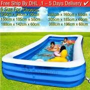 Inflatable Swimming Pool Garden Outdoor Family Kiddie Pools Fast Ship 15 Days