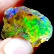 See Video 122 Cts 35x23x24mm Natural Aaa+welo Fire Ethiopian Opal Roughz130