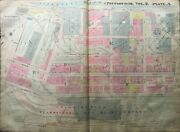 1914 Pittsburgh Pa Union Station 10th To 15th St And Grant Blvd To River Atlas Map
