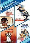 The Mack Moving Uptown Greased - Richard Pryor 4 Film Dvd 2010 4 Disc