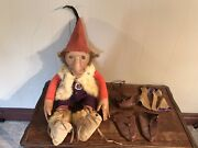 Vintage Charleen Kinser Tom Griswold Gnome Troll Leather Forever Toy 1984 Rare