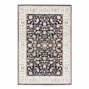 5and0399x9and039 Nain All Over Floral Design Wool And Silk 250 Kpsi Hand Knotted Rug R62757
