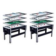 Lancaster Pool Bowling Hockey Table Tennis Combo Arcade Game Table 2 Pack