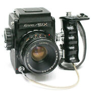 [excellent +++++] Kowa Six With 3 Lenses 2 Grips And 3 Viewfinders Set 0512