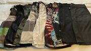 Mens Swim Shorts Size 32 Assorted Brands Lot Of 9