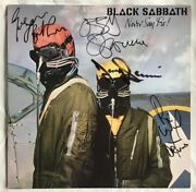 Black Sabbath Never Say Die 1978 Nm Lp - Autographed / Signed By Whole Band