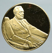 United States Franklin D. Roosevelt Official Presidential Portrait Medal I91358