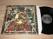Napalm Death 12 Ep - The World Keeps Turning / 1992 Uk Earache Mosh65t In Mint