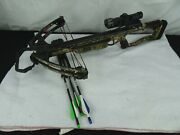 Barnett Raptor Fx Crossbow With Scope And Bolts