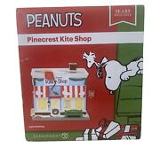 Dept 56 Peanuts Snoopy Pinecrest Kite Shop Lighted Building Sears Exclusive New