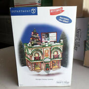 Department 56 City Lights Christmas Trimming Snow Village 55348 Retired
