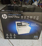 Hp Color Laser Jet Pro Mfp M477fnw Business All-in-one Laser Printer Copier Fax