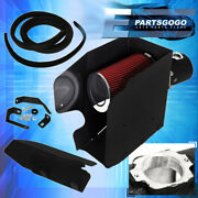 For 08-10 F250 F350 F450 Superduty Air Intake Induction Heat Shield Black Pipe