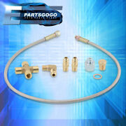 Universal Racing Turbo Upgrade Oil Cooling Feed Line 36 Hose T3 T4 T04e T70 T60
