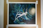 Half-lived Print By Lauren Tsai Signed And Numbered 22 X 18.75 New