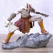 Kratos Action Figure Toy Model God Of War Ascension Pvc Doll Collectible 15.5 Cm