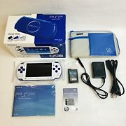 Psp Playstaion Portable Value Pack White/blue Pspj-30018 Discontinued