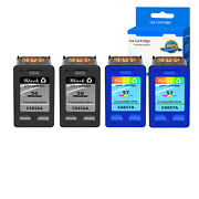Compatible With 2pk 56 Black+2pk 57 Color Ink For Hp Officejet 6110 5510