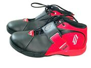 Starbury Big Ben Wallace Menandrsquos Size 12 Basketball High Top Shoes Red And Black Vtg