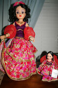 Madame Alexander Fortune Teller Doll21 In / 8 In Both Perfect Npw