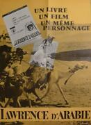 Lawrence Of Arabia - Lean / Oand039toole / Guiness / Quinn - Original Book Poster