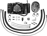 Jagg Oil Coolers Low-mount 10 Row Fan-assisted Oil Cooler Harley Flh 751-fp2400