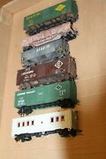 Ho Scale 6 Weathered Freight Cars Used In Very Good Condition Knuckle Couplers