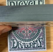 Gilded Bicycle Dragonfly Teal Playing Cards - Very Limited Edition