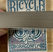 Gilded Bicycle Dragonfly Tan Playing Cards - Very Limited Edition