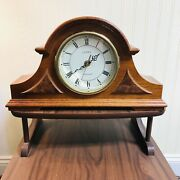 Linden Westminster Mantle Clock With Westminster Chimes