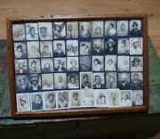 50 Vintage Antique African-american Photos In Frame Photo Booth