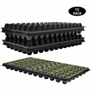 10 Pcs/lot Nursery Pots In Flower And Planters Cell Seed Starter Starting Trays