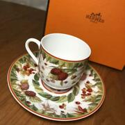Sale Hermes Cup Saucer Siesta Discontinued From Japan Fedex No.7934