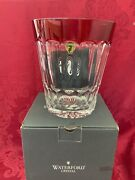 Nibnew Flawless Stunning Waterford Glass Simply Red Crystal Ice Bucket Container