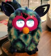 Furby Boom 2012 Hasbro Blue Diamonds Interactive Pet Toy Tested And Works