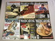 Lot 6 Wood Carving Illustrated Carvers Tools Patterns Techniques