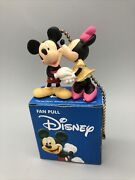 Disney Mickey Mouse And Minnie Fan Light Pull Cord Chain