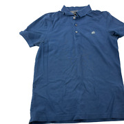 Banana Republic Polo Shirt Adult Medium Blue Outdoors Casual Rugby Golf