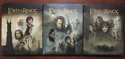 Lord Of The Rings Trilogy Blu-ray/dvd, Steelbook