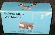 Vintage Golden Eagle Worldwide Model Swr-3 Swr/power/field Strength Meter