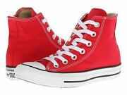 Converse All Star Chuck Taylor Hi Top Red Canvas Menand039s Womenand039s Shoes M9621
