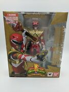 Rare Mighty Morphin Power Rangers Armored Red Ranger S.h. Figuarts