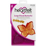 Lot Se Heartfelt Creations Floral Butterfly Collection Dies+stamp Choose Set