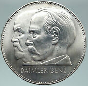 1961 Germany Auto 75th Anniversary Mercedes Benz Daimler Old Silver Medal I87488