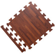 1 Soft Wood Grain Floor Foam Puzzle Mat For Bedroom Playroom Gym House Supplies