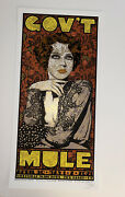 Govt Mule Chuck Sperry Poster Official Westville New Haven Ct 2021 S/n In Hand