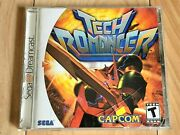 Tech Romancer Sega Dreamcast, 2000 - Video Game Complete And Tested Read