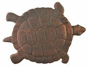 New14.5 Tall Large Turtle Garden Stepping Stone Bronze Cast Iron 2day Delivery