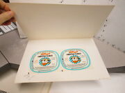 Kelloggand039s Single Serve Cereal Box Bowl Lid 1963 Proof Sugar Frosted Flakes Tony